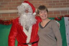 DSC_817 Stéphanie et le Père Noël