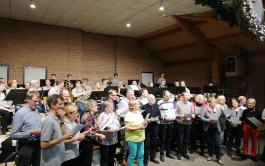 Téléthon 2018 : Une harmonie et une chorale au Top !